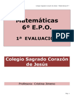 Cuadernillo 1ª Eval 6º-2