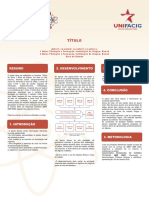 Template Poster v Seminário Científico UNIFACIG 2019