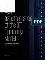 Agile Transformation Operating Model