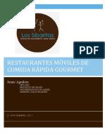 RESTAURANTES MOVILES PARA COMIDA GOURMET