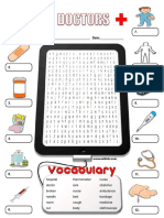 doctor identify worksheet