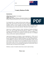 Country Business Profile New Zealand