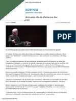 Cardeal Patriarca Fala Dos Padres Que Não Respeitam a Fé...
