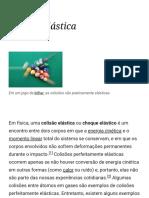 Colisão Elástica – Wikipédia, A Enciclopédia Livre