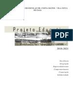 ProjetoEducativo2018 _2021