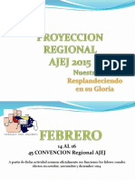 PROYECCION 2015