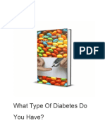 What Type Of Diabetes Do You Have?