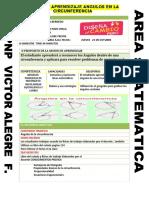 Sesion Angulos en La Circunferencia