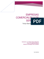 Empresas Comerciales y de Servicios