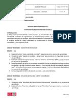 1 Guía de trabajo Módulo 1 Extensión y Desarrollo Rural
