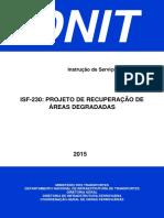ISF-230 - Projeto de Recuperacao de Area Degradada