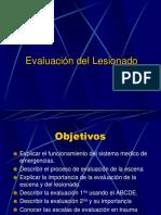 Evaluacion de Lesionado (Spanish)