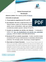 Resumo Processo Civil - 01. Reclamação Constitucional