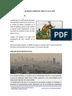 Cdmx Contaminación Aire