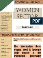 Women Sector