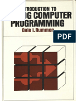 Introduction to Analog Computer Programming, Dale I. Rummen