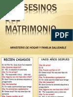 10 Asesinos Del Matrimonio