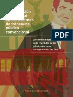 Transporte Publico Conformación Empresas Mercantiles