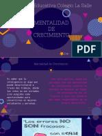 Mentalidad de Crecimiento Neuroplasticidad