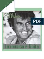 Franco Califano - La Musica è Finita (1967)