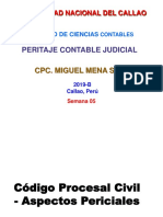 SEMANA 05-CODIGO-PROCESAL-CIVIL-ASPECTOS-PERICIALES PARA ALUMNOS.ppt
