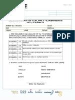 Evaluación SUSTANCIAS PELIGRPOSAS
