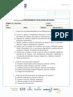 Evaluación Procedimiento de Bloqueo de Equipo.