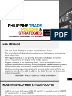 Philippine Trade Policy and Strategies