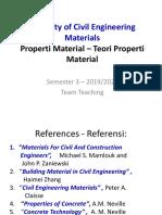 teori properti material