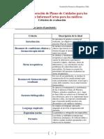 Elaboración de Planes de Cuidados Para Los Pacientes e Informes-Cartas Para Los Médicos
