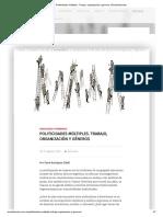 Politicidades Múltiples. Trabajo, Organización y Géneros _ Revista Bordes