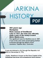 Marikina history