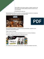 Merchandising VANS