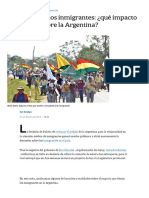 nota inmigrantes cobran mas que un argentino