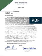 2019-10-22 Letter to FRTIB