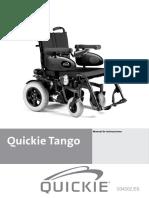 Manual de Usuario Quickie Tango