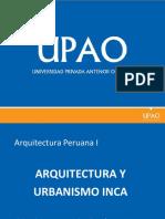 Urbanismo y Arquitectura Inca