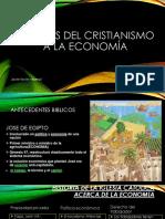 Aportes Del Cristianismo a La Economia