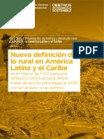 Dirven - Nueva definición de lo rural en América Latina y el Caribe en el marco de FAO para una reflexión colectiva.pdf