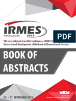 International Scientific Conference - IRMES 2019
