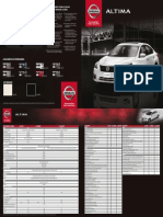 Ficha tecnica Nissan Versa