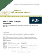Aql Nafs Et Qalb Définitions Conceptuelles