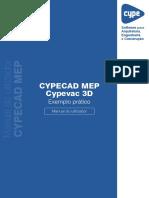 CYPECAD MEP Cypevac 3D-Exemplo Pratico