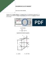 Aplicasion de La Ley Faraday-1