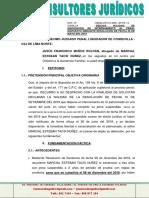 Deduzco Nulidad de Efecto de Resolución de Fecha 06 de Mayo Del 2019