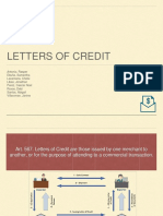 Nego Report on Letters of Credit Philippines