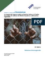 La trampa del ingreso medio en América Latina y el Caribe