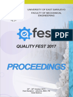 QFEST Proceedings 2017