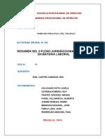 Pleno II jurisdiccional del Trabajo