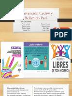 Convención Cedaw y Belém Do Pará Legislación